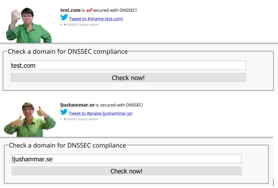 DNSSEC fame and shame