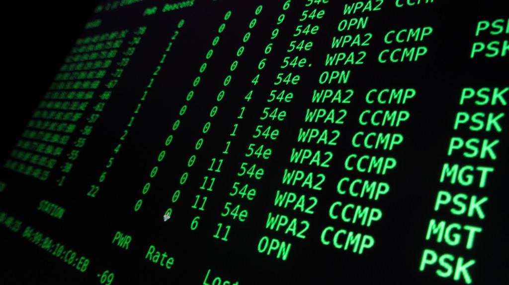 wpa2 kod grön